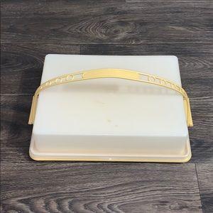 Vintage Tupperware Cake Taker